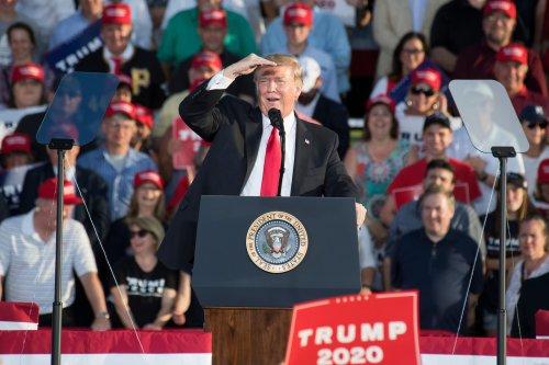 Senate candidates walk Trump tightrope as he returns to Arizona - Roll Call