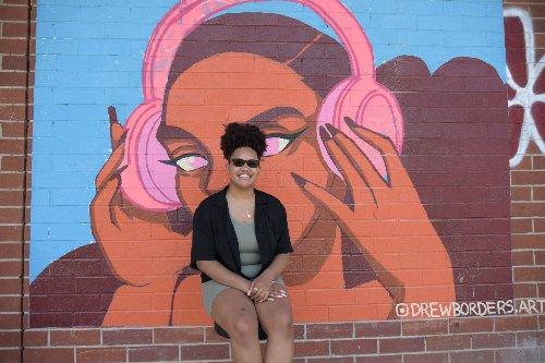 Atlanta artist Drew Borders reveals inspiration behind popular Beltline mural - Rolling Out