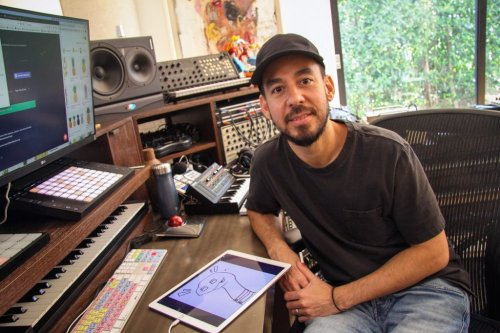 How Mike Shinoda Found a New Creative Community Online
