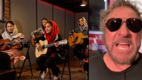 See Sammy Hagar Join Afghan Children on 'Fly Like an Eagle'