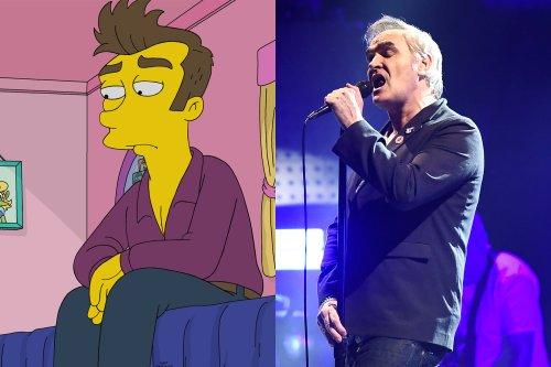 Morrissey's Manager Blasts 'The Simpsons' After Episode Mocks Singer