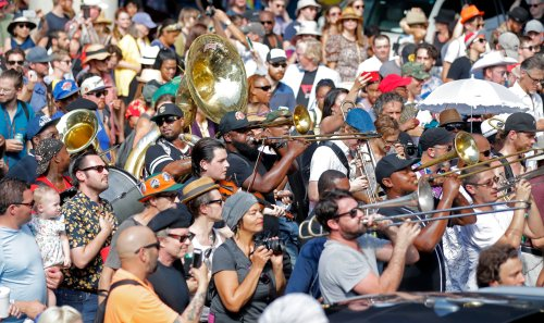 Dr. John Celebrated at Second Line Tribute in New Orleans