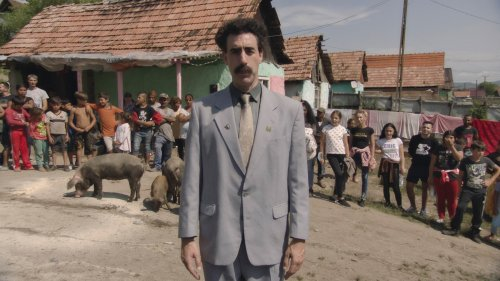 Borat Causes More Mayhem in New 'Supplemental Reportings' Trailer