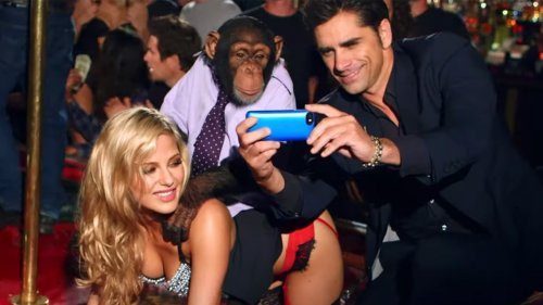 John Stamos, Chimp Enjoy Wild Night at Strip Club in the Offspring's 'We Never Have Sex Anymore' Video