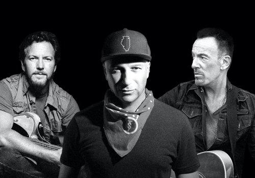 Hear Tom Morello, Bruce Springsteen, Eddie Vedder Cover AC/DC Classic
