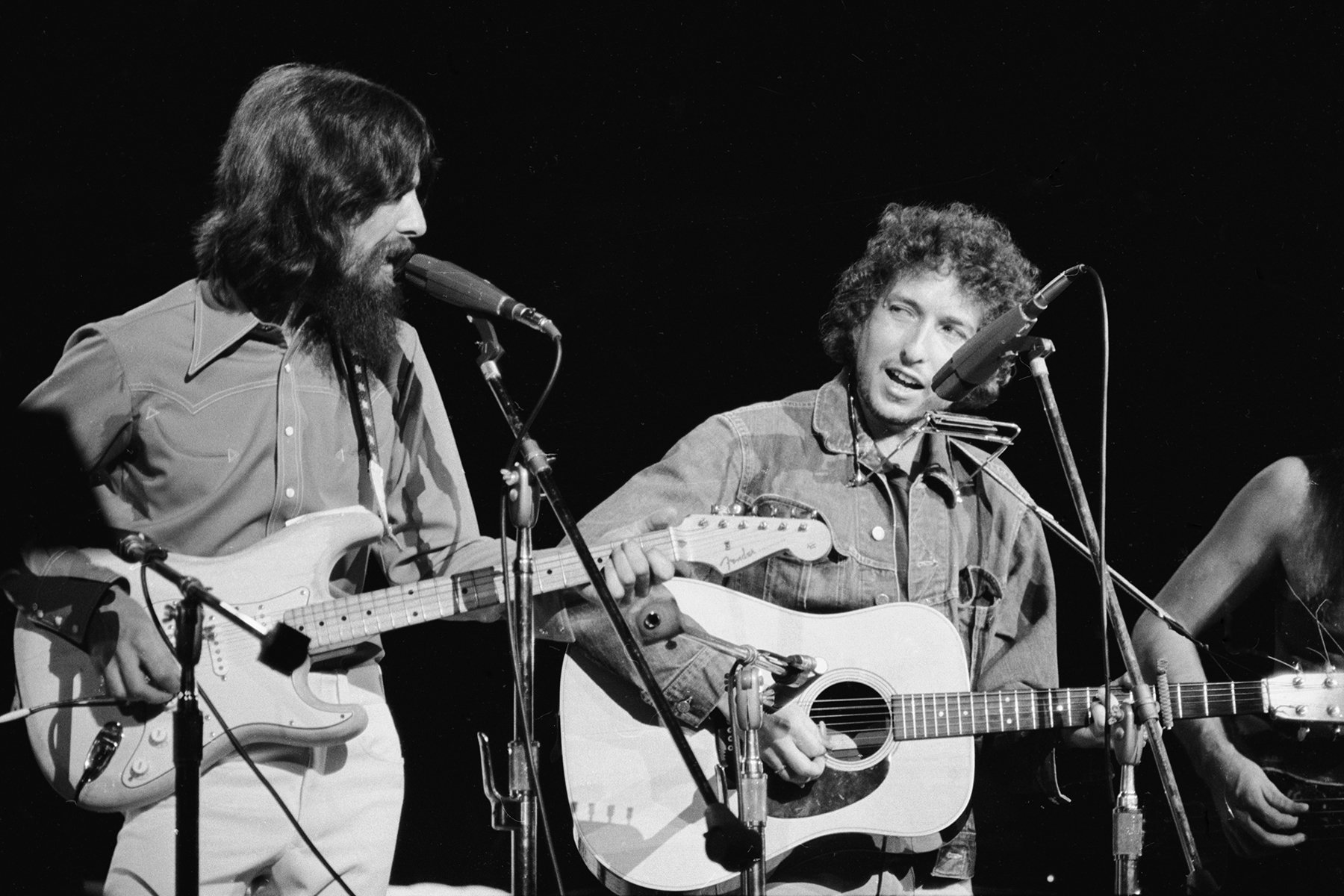 Flashback: Bob Dylan Sings an Impromptu 'Yesterday' With George Harrison in 1970