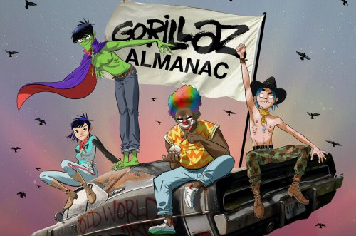 Gorillaz Celebrate 20-Year Visual History With Expansive 'Almanac' Book