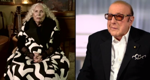 Joni Mitchell Gives Rare Interview at Clive Davis' Virtual Grammy Party