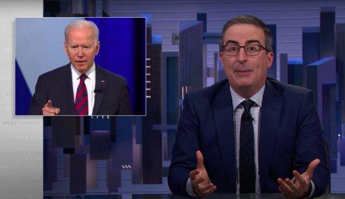 John Oliver Tells Joe Biden to 'Stop F-king Around and Fix' Voter Suppression