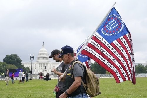 Right-Wing Conspiracy Rally Collapses Under Weight of Right-Wing Conspiracies