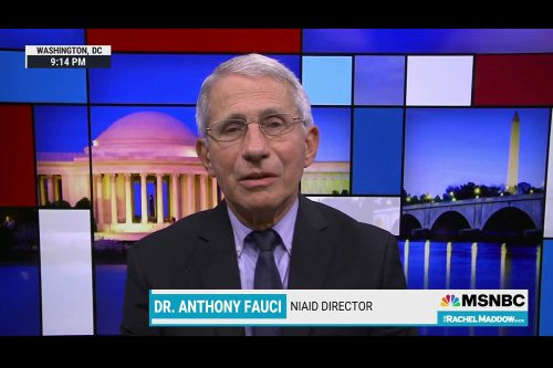 Fauci Calls Baseless Republican Attacks on Him Anti-Science Nonsense
