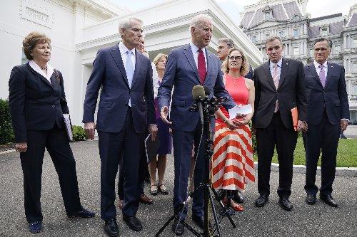Biden Announces Infrastructure Deal With Bipartisan Group of Senators