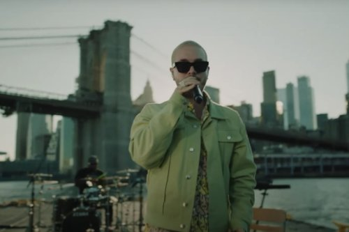 J Balvin Brought 'Jose' to a Barge on the East River for NPR's 'El Tiny' Series