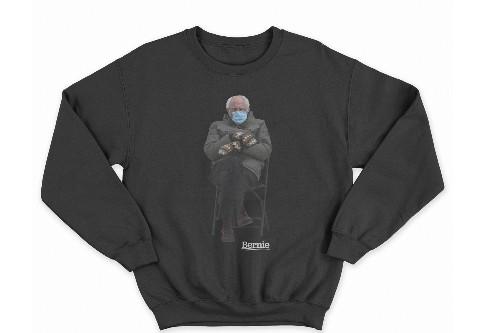 Bernie Sanders Turned His Inauguration Meme Into a Sweatshirt for Charity
