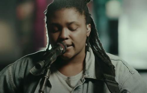 Joy Oladokun Gives Emotionally Wrought Performance of 'Sunday' on 'Colbert'