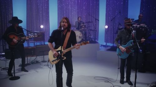 Lukas Nelson & Promise of the Real Perform 'Perennial Bloom' on 'Kimmel'