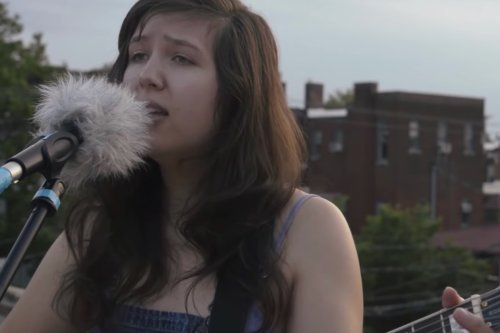 Flashback: Lucy Dacus Performs 'Map on a Wall' on a Virginia Rooftop in 2014