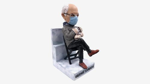The Bernie Sanders Inauguration Day Meme Has Been Turned Into a Limited Edition Bobblehead