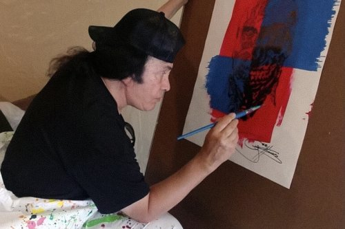 Gene Simmons Has Been Making Art in Secret for 50 Years