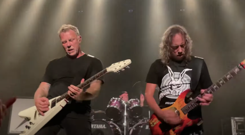 Metallica Unleashes 'Seek & Destroy,' 'Master of Puppets' at Surprise Show at Chicago Metro