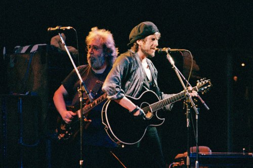 Flashback: Bob Dylan and the Grateful Dead Play 'Watching the River Flow'