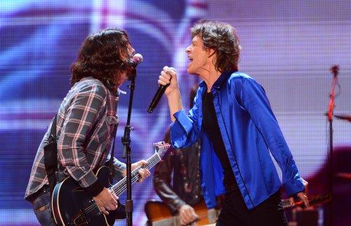 """Mick Jagger und Dave Grohl: Neuen gemeinsamen Song """"Eazy Sleazy"""" hier anhören"""