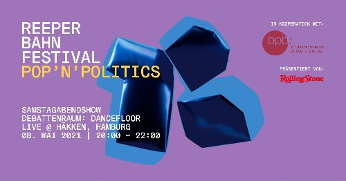 """ROLLING STONE präsentiert: """"pop'n'politics – Online Edition"""""""
