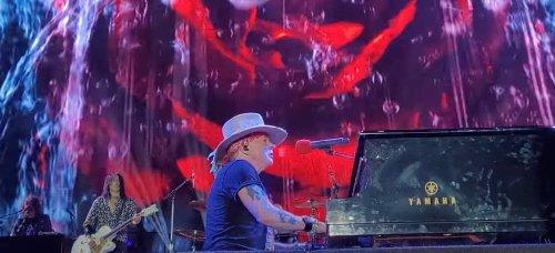 Les Guns N' Roses ont joué pour la première fois depuis le début de la pandémie