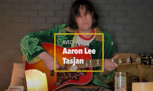 Aaron Lee Tasjan dans « In My Room », le concert confiné