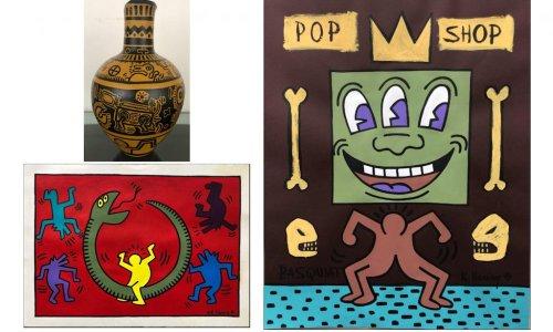 Un homme arrêté, accusé d'avoir vendu de fausses œuvres de Jean-Michel Basquiat et Keith Haring