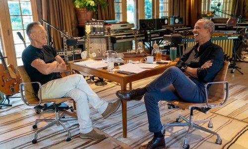 Barack Obama et Bruce Springsteen s'associent pour un podcast Spotify