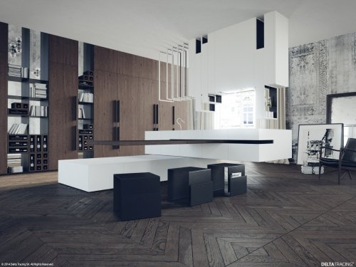 Types of Modern Kitchen Designs With a Contemporary and Minimalist Which Very Appropriate To Apply
