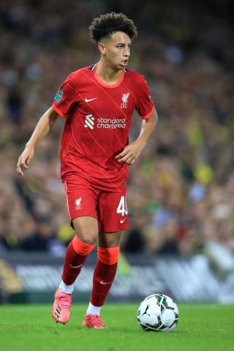16-year-old wonderkid pictured with Liverpool first team ahead of Porto clash, U23s absence explained