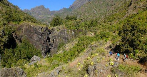 Le « volcan » : dernière ascension vers le piton de la Fournaise