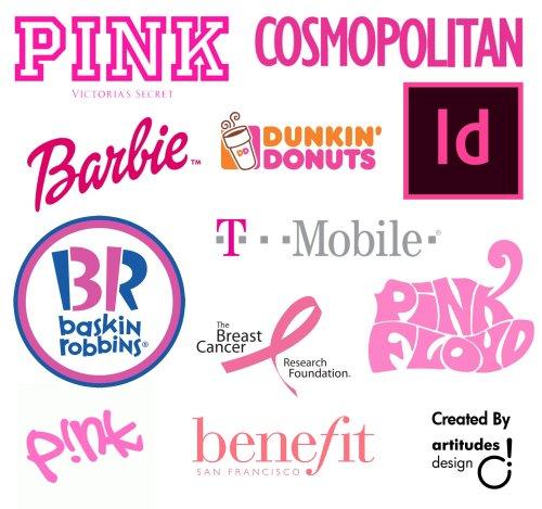 Pink Colour Branding