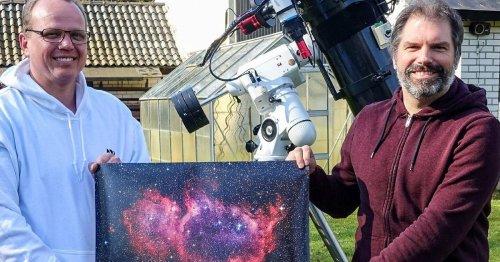 Ungewöhnliches Hobby: Zwei Brüggener fotografieren faszinierende Weltraum-Welten