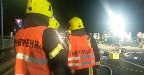 Unfall in Niederkrüchten: Drei Verletzte bei Unfall an der Abfahrt der Autobahn 52
