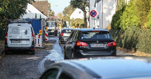 Chaos in Grevenbroich-Neubrück: Fahrer ignorieren Straßensperrung