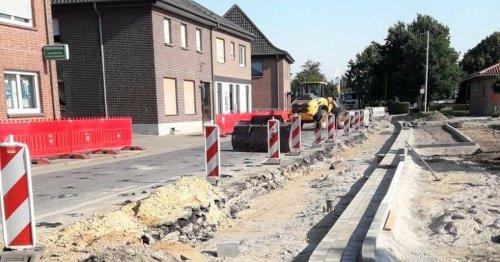 Verkehr in Wemb: Bauarbeiten – andere Verkehrsströme in Wemb
