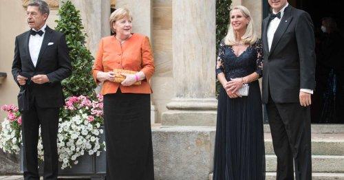 Start der Wagner-Festpiele: Applaus für Angela Merkel in Bayreuth