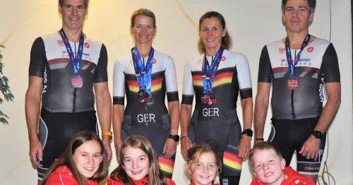 Ironman in Roth: Christine Terweiden ist Europameisterin