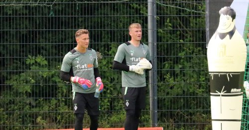 Olschowsky und Kersken: Borussias junge Keeper liefern sich ein Kopf-an-Kopf-Duell