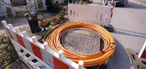 Netzausbau in Heiligenhaus: Start für 100 Kilometer Glasfaser-Kabel
