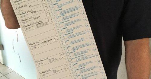 Sonntag ist Wahltag: Redkordbeteiligung bei den Briefwählern