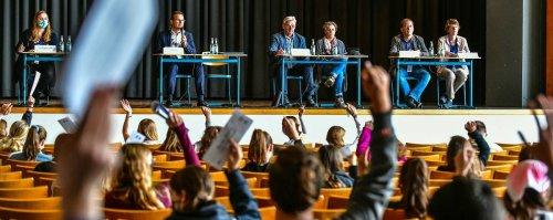 Schulprojekt in Geldern: Demokratie zum Anfassen