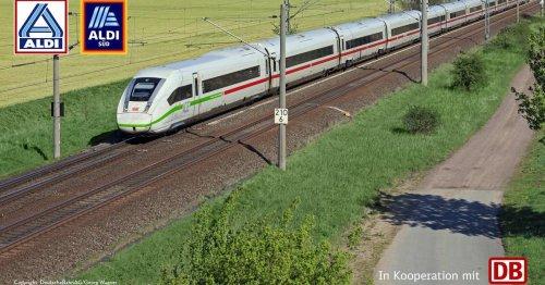 Verkauf ab Montag: Was bei den Bahntickets von Aldi zu beachten ist