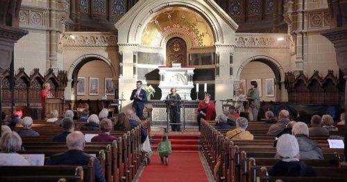 Aktion in Mönchengladbach: Flüchtling bedankt sich für seine Aufnahme
