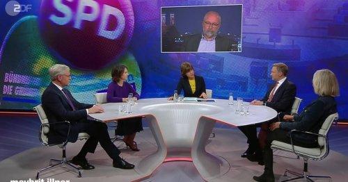 """Ampel-Talk bei """"Illner"""": """"Die Klimaregierung, die Sie versprochen haben, steht da noch nicht drin."""""""