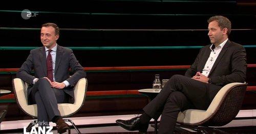 """SPD versus CDU bei """"Lanz"""": """"Die haben doch jedes Mal Schiss, wenn der Söder in eine Talkshow geht"""""""