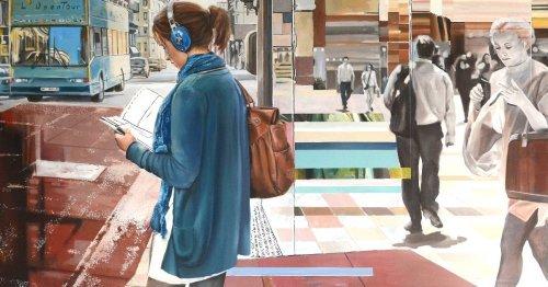 Ausstellung in Neuss: Malerei von Mallat im Kunstraum
